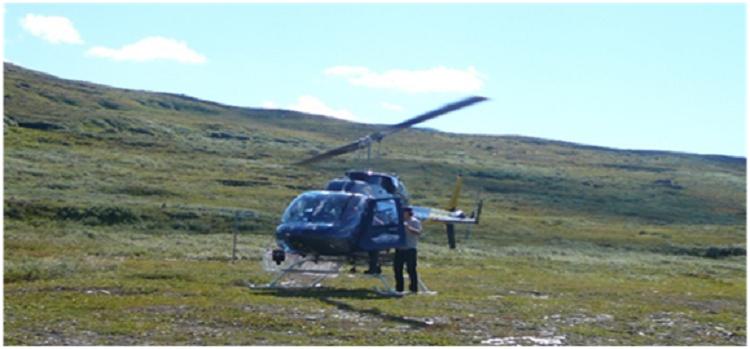 Antonella nella terra dei Sami